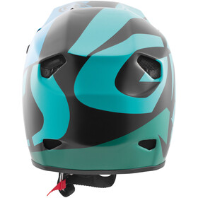 TSG Advance Graphic Design Helmet Herr interval green blue